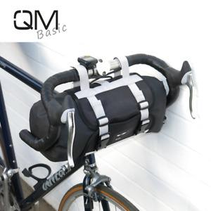 QMBasic BIKEPACKING Lenkertasche 9L Dry Bag Rolle MTB Racing Gravel bike Roll UP
