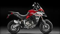 Stickers Kit Motorcycle Ducati Multistrada 1200 Enduro Red Style