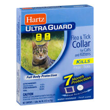 Hartz UltraGuard FLEA & TICK COLLAR for Cats and Kittens 7 MONTH PROTECTION Pets
