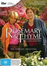 NEW Rosemary and Thyme - The Complete Collection (6 Discs) DVD Free Shipping