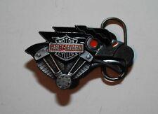 Harley Davidson Belt buckle vintage 1992 Pewter Painted nice shape
