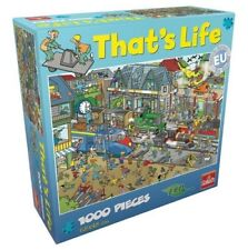 That's Life Collection 1000 Piece Jigsaw Puzzle - Train Yard