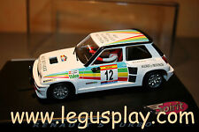 Slot SCX Scalextric Spirit 0500602 Renault 5 Turbo Carlos Sainz - New