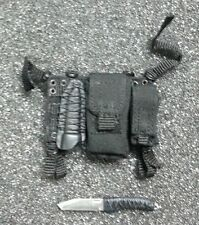 Hot Toys 1/6 GI Joe Retaliation Snake Eyes - Knife and Pouch