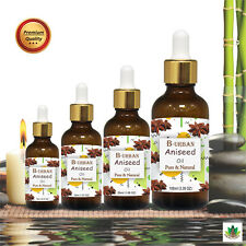 ANISEED OIL(Pimpinella anisum) 100% NATURAL PURE ESSENTIAL OIL 15ML TO 1000ML