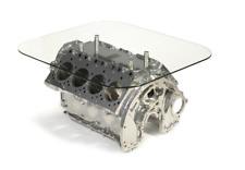 Bentley / Rolls Royce 6.75L V8 Engine Block Coffee Table