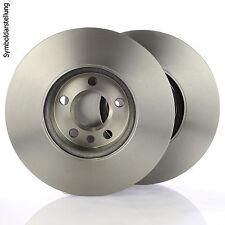 2x Bremsscheibe Ø288mm belüftet 5-Loch vorne für Mercedes C-Klasse W202 CLK C208