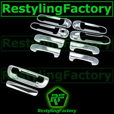 Chrome 4 Door Handle W/O PSG KH+Tailgate Cover fit 99-04 JEEP GRAND CHEROKEE