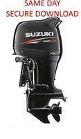 2002-2008 Suzuki DF40 DF50 Outboard Motor Service Manual  FAST ACCESS