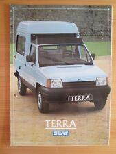 Seat Marbella Terra Prospekt, brochure, cataloque, 1987