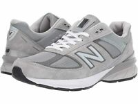 New Balance 990v5 Grey Men's Running Shoes - NEW - Choose Size & Width