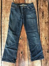 RALPH LAUREN POLO JEANS COMPANY STRETCH MELANIE BOOTCUT JEANS WOMENS SIZE 29X32