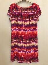 Ronni Nicole Womens Size 16 Dress Short Sleeves Sheath Multiple Colors Bright Vi