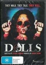 DOLLS - THEY WALK THEY TALK THEY KILL- NEW & SEALED REGION 4 DVD FREE LOCAL POST
