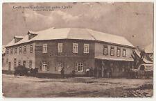 Ak Gasthaus zur guten Quelle Burgstädt Erfurt Naumburg Bahnpost Kölleda  (A3829