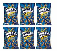 BUGLES RANCH NATURALLY FLAVORED 3 oz / 85 g (6 in a Box) Crispy Corn Snacks