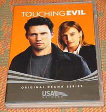 TOUCHING EVIL, Rare '04 DVD, Jeffrey Donovan, Vera Farmiga, 2 HR. PILOT - USA-TV