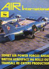 AIR ENTHUSIAST INTERNATIONAL MAGAZINE 1981 JUN - BRITISH AEROSPACE 146