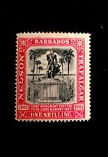 Barbados SG151 Mounted Mint 1907 Black And Rose 1906