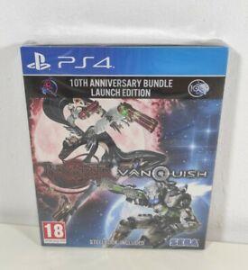 Bayonetta & Vanquish 10th Anniversary Bundle Playstation 4 PS4 Game Steelbook Ed