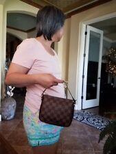 Authentic Louis Vuitton Damier Ebene Truth Makeup Pouch Bag