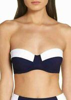 Tory Burch Lipsi Bikini Top MSRP $138 Size L # U10 194 NEW