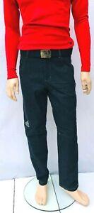 Adidas Terrex Denim Jeans Mens Grey Pants Climb The City Hiking Official Team GB