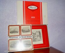 4 Vintage Pimpernel British Heritage Place mats in Box + 4 matching Coasters