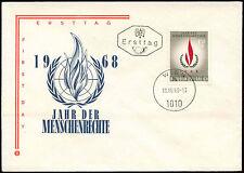 Austria 1968 Human Rights Year FDC #C23691
