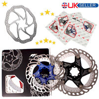 140//160//180//203mm Rotor MTB Bike Floating Disc Brake Rotor AL7075 Brake Kit For