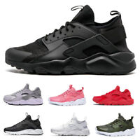 UK MENS WOMENS PUMPS RUNNING TRAINERS LACE UP SPORTS GYM CASUAL SHOES BREATHABLE