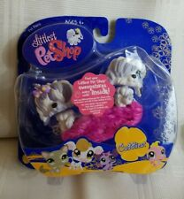 LPS LITTLEST PET SHOP PAIR OF  SHEEPDOGS #465 & #466 DOGS TOYS