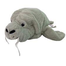 "Ganz Webkinz Manatee Sea Cow Plush Stuffed Animal 10"" No Code HM229"