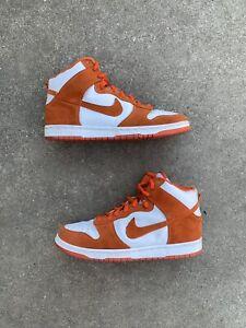 2005 Nike SB Dunk High Syracuse BTTYS Size 11 Mens Orange White