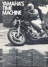 1978 Yamaha XS Eleven Motorcycle Bike Original Review Print Article J523
