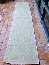 "Jill Rosenwald for Surya flat weave rug 30"" x 138"""