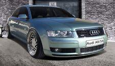 Scheinwerferblenden für Audi A8 4E Böser Blick Scheinwerfer eyebrows Blenden ABS