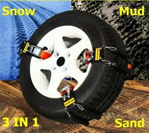 Car Chain For Snow, Mud & Sand