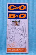 C&O / B&O - Time Table - Oct. 30, 1966