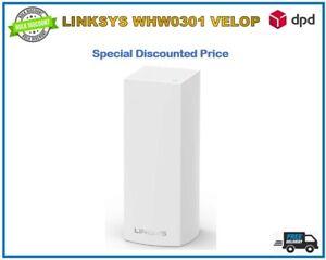 Job Lot 6 Pcs Linksys Velop WHW0301 Tri-Band Whole Home Wi-Fi System