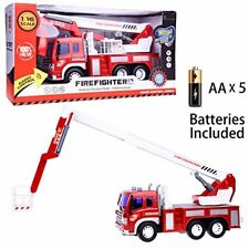 Remote Control Fire Rescue Fighting Truck VehicleToys With Light And Music New