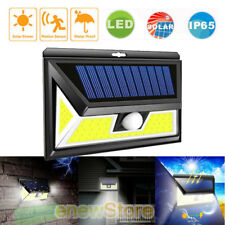 154/180LED Solar Light Outdoor Garden Motion Sensor Emergency Wall Lamp Cableles