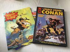 SAVAGE SWORD CONAN COLLECTION nr 1 VOLUME CARTONATO 1^ EDIZIONE HACHETTE