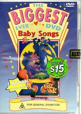 The Biggest Ever DVD Baby Songs REGION FREE - BRAND NEW SEALED - FREE POST!