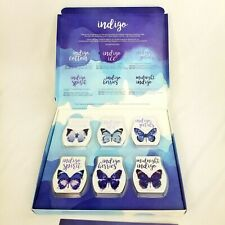 Scentsy Indigo Collection 6 Bars Gift Set Discontinued Limited Edition New Gift
