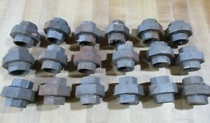 18 Cast Iron Pipe Union W & K 150 3 piece  or Malleable Iron
