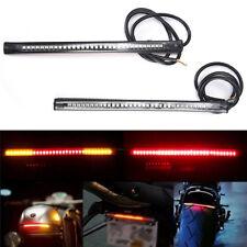 48 SMD LED Motorcycle Motorbike Tail Brakes Stop Turn Signal Strips Lights M&C