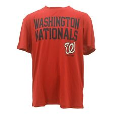Official Washington Nationals Youth Size MLB Athletic polyester T-Shirt New