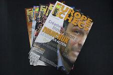 CHESS MAGAZINES Lot of 5 EUROPE ECHECS magazines Janvier - Mai 2010 Francais