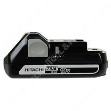 Hitachi BSL1825 18V Li-Ion Battery 2.5ah New for DV18DBL DS18DFL WH18DGL DS18DGL